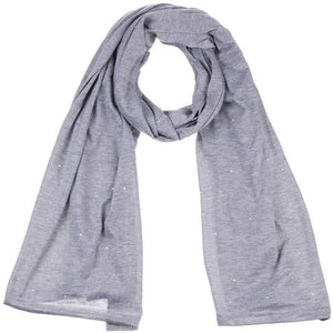 Wholesale Bulk Pack Jersey Scarves Fashion Oblong Plain Head Scarf Wrap Shawls Light Grey-GDP944