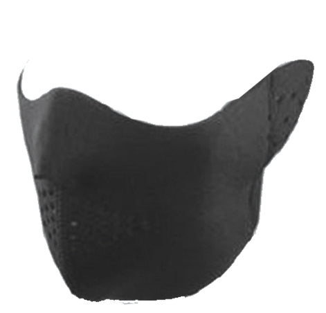 Wholesale Bulk Pack Ski Half Face Mask W/Foam & Velcro Closure-GDP433