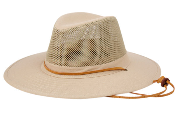 Wholesale Bulk Pack Outdoor Safari Hats With Mesh Crown-GDP3234