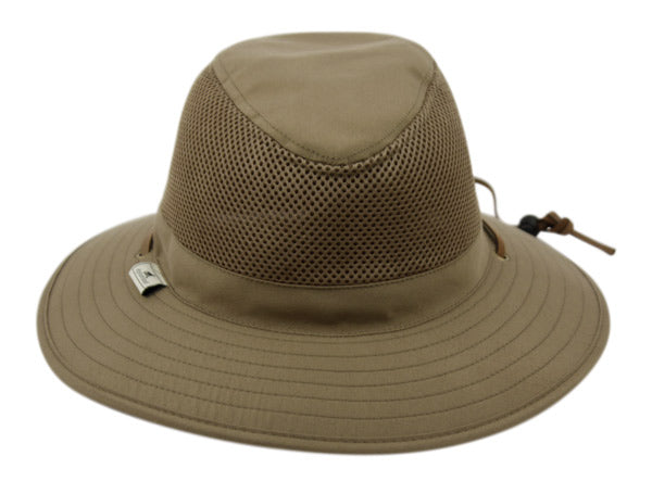Wholesale Bulk Pack Outdoor Safari With Mesh & Chin Cord Strap-GDP3211