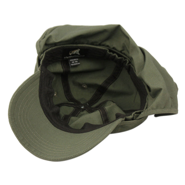 Wholesale Bulk Pack Sun Protection Outdoor Fishing Cap With Removable Neck Flap GDOD2791