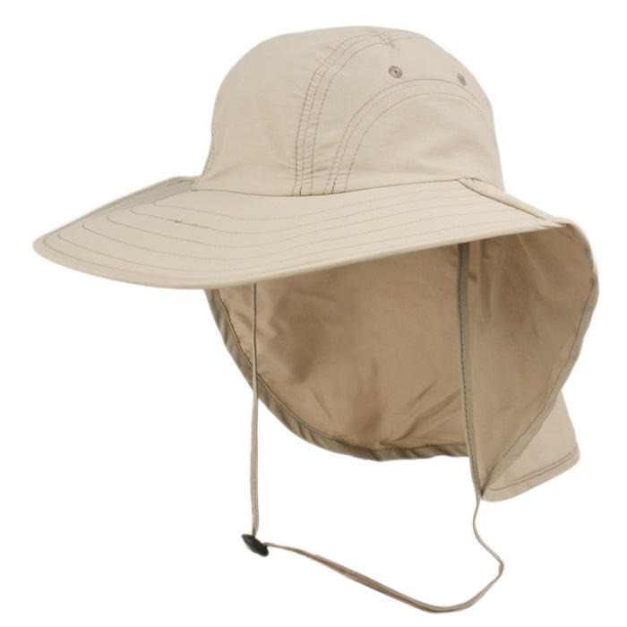 6c2a104707 Wholesale Bulk Pack Packable Sun Protection Fishing Cap With Neck Flap  GDOD2792 ...