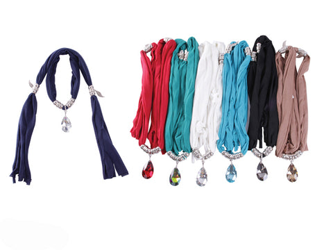 Wholesale Bulk Pack Fashion Jewelry Scarf-GDP3873