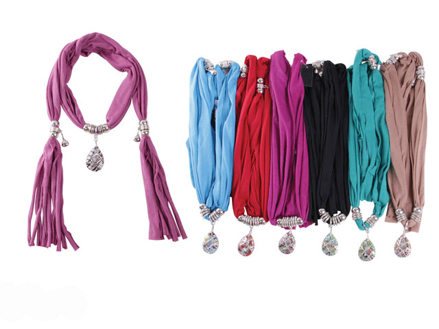 Wholesale Bulk Pack Fashion Jewelry Scarf-GDP3870