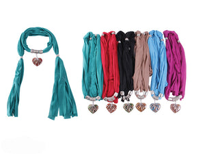 Wholesale Bulk Pack Fashion Jewelry Scarf-GDP3867