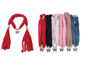 Wholesale Bulk Pack Fashion Jewelry Scarf-GDP3864