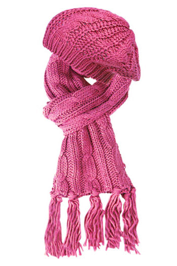 Wholesale Bulk Pack Knit Beret And Scarf Sets-GDP256