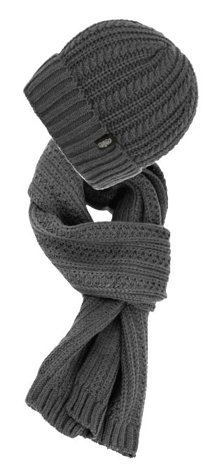 55a8d8fa77a36 ... Wholesale Bulk Pack Chunky Cable Knit Beanie With Matching Scarf-GDP2869  ...