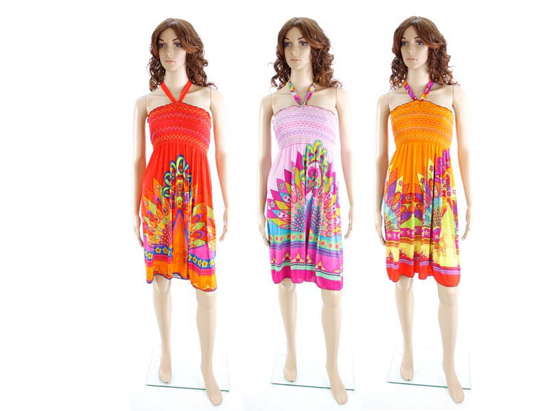 Wholesale Bulk Pack Short Dress-GDP4333
