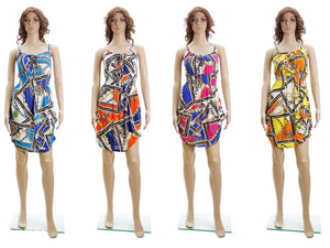 Wholesale Bulk Pack Short Dress-GDP4330
