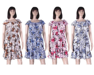 Wholesale Bulk Pack Plus Size Dress-GDP4147