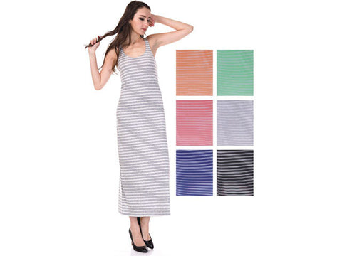 Wholesale Bulk Pack Stripe Dress-GDP4314