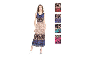 Wholesale Bulk Pack Plus Size Long Dress-GDP4141