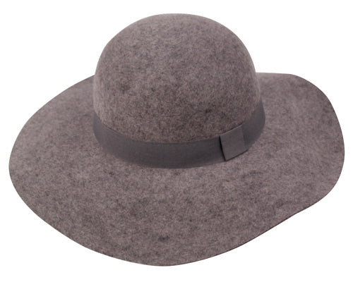 Wholesale Bulk Pack Ladies Wool Felt Hats With Grosgrain Band GDWFL2164