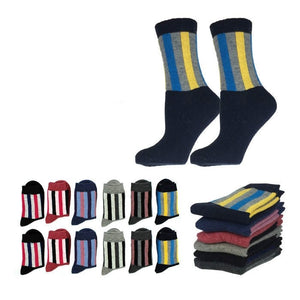 Wholesale Bulk Pack 12pack Wool Blend Warm Crew Women Socks-GDP726