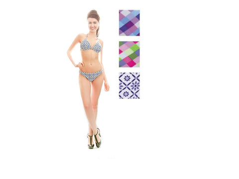 Wholesale Bulk Pack 2PC Swimsuit On Hanger GDLB806367