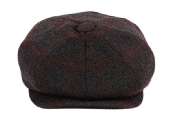 Wholesale Bulk Pack Brushed Wool Blend Newsboy Cap-GDP1078