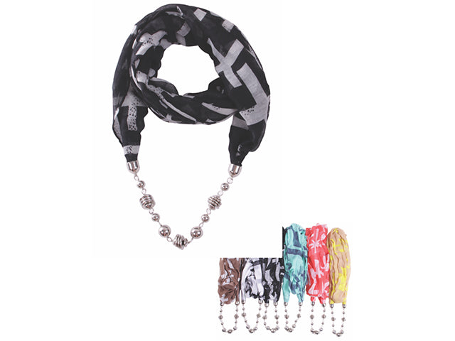 Wholesale Bulk Pack Fashion Jewelry Scarf-GDP3858