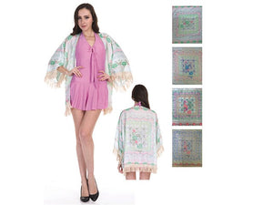 Wholesale Bulk Pack Chiffon Cover Up Assored Colors GDQX-32-GDP4622