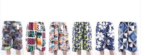 Wholesale Bulk Pack Men's Swim Short With Lining And Cargo Pocket GDP652