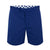 Mens Long Blue Tailored Shorts