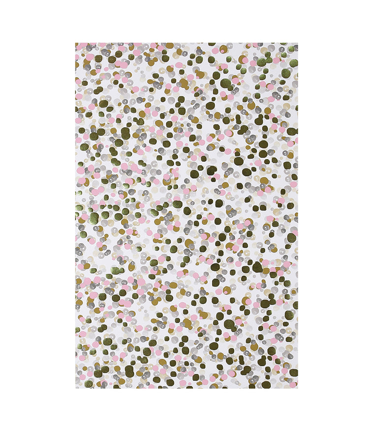 Multi Color Bubbles Wrapping Paper