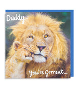 Daddy you're Great Card
