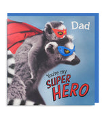 Super Hero Dad Card