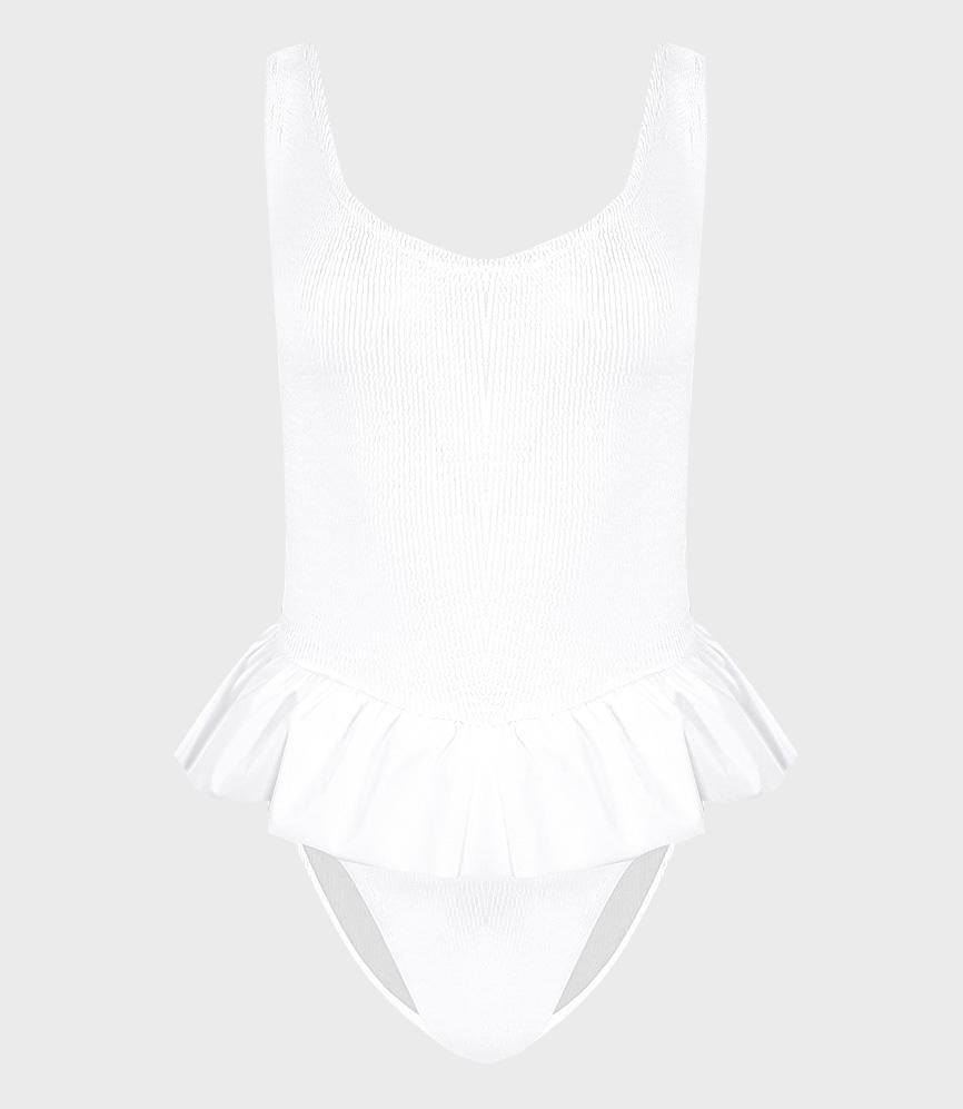 Hunza G Denise Swim White