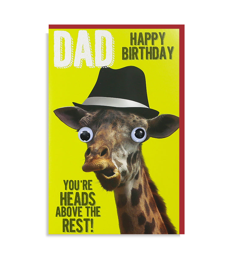 Dad- You're Heads Above Birthday Card