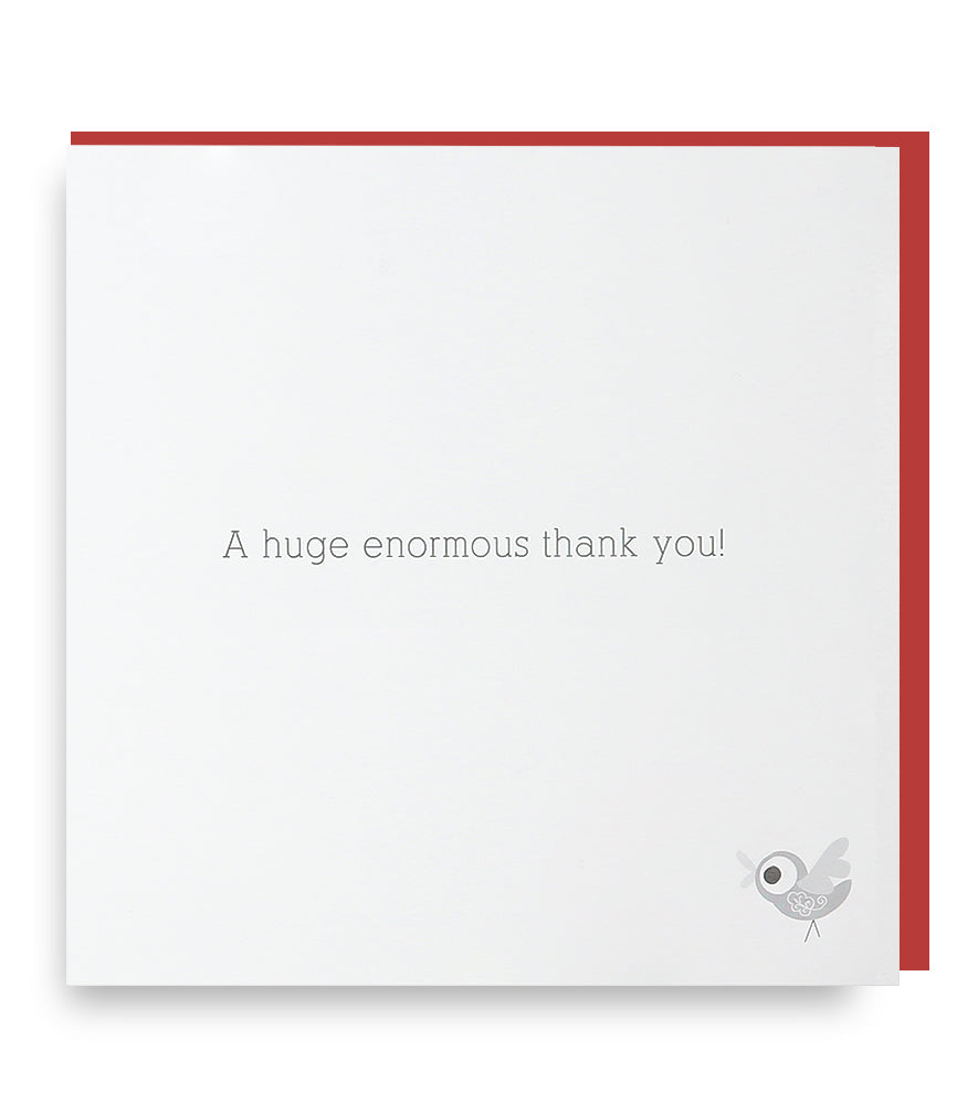 Big Thanks Card