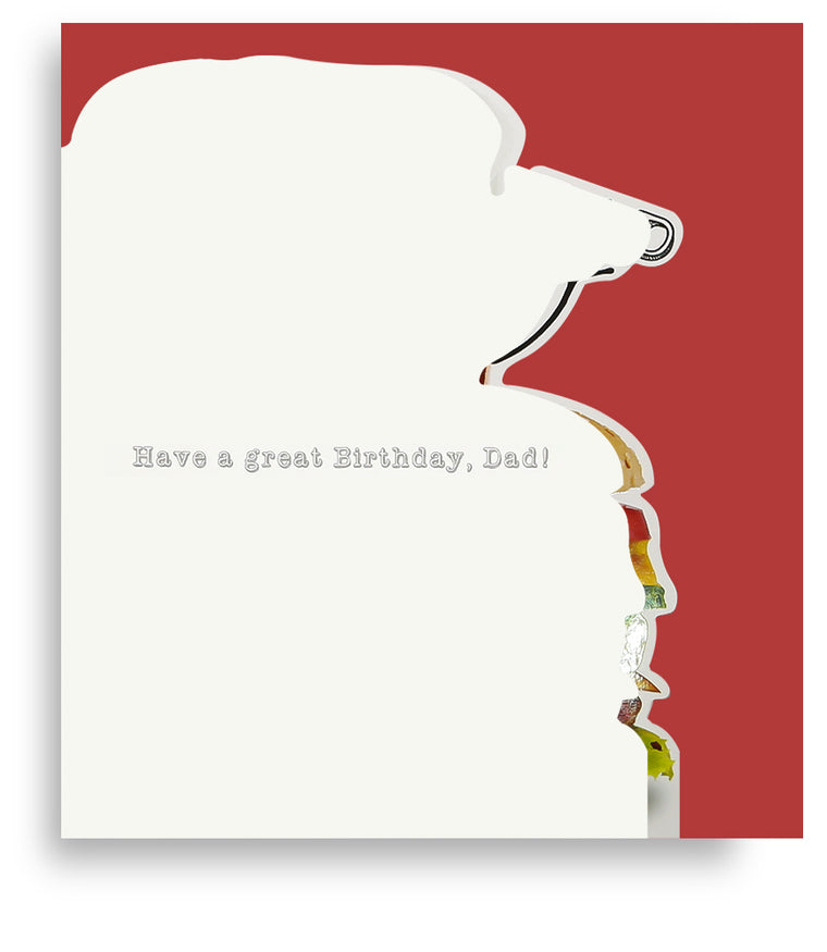 Dad Burger n' Beer Card