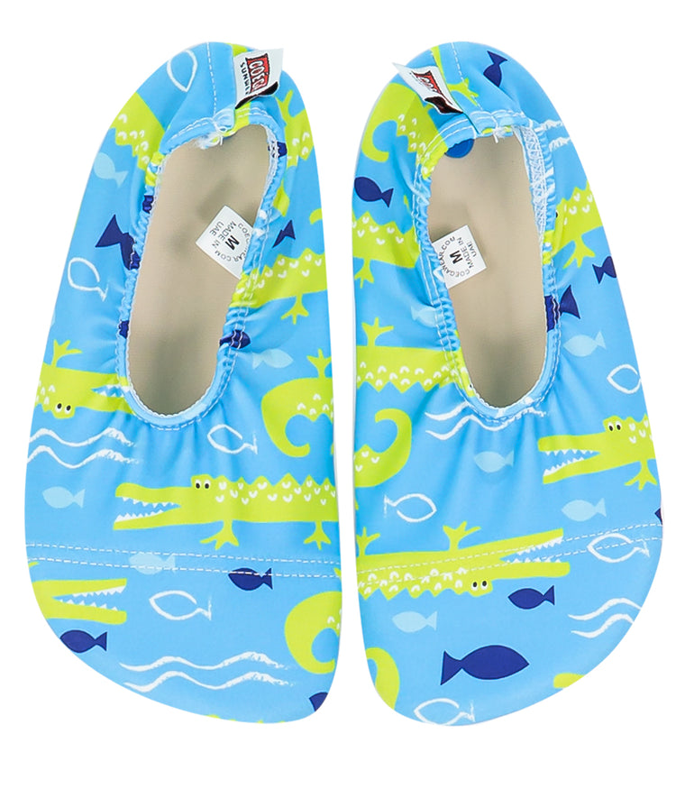 Coega Crocodile Pattern Pool and Beach Shoes