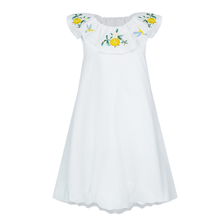 Hariasa Dress White