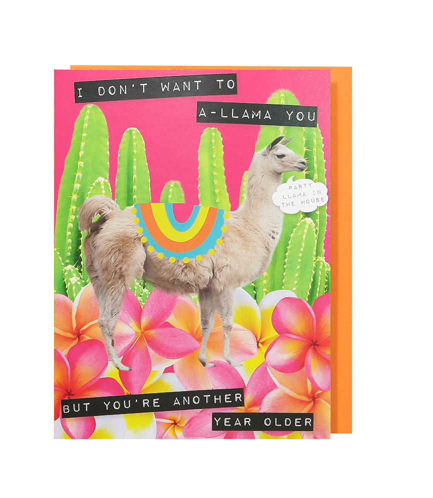 A-llama You Birthday Card