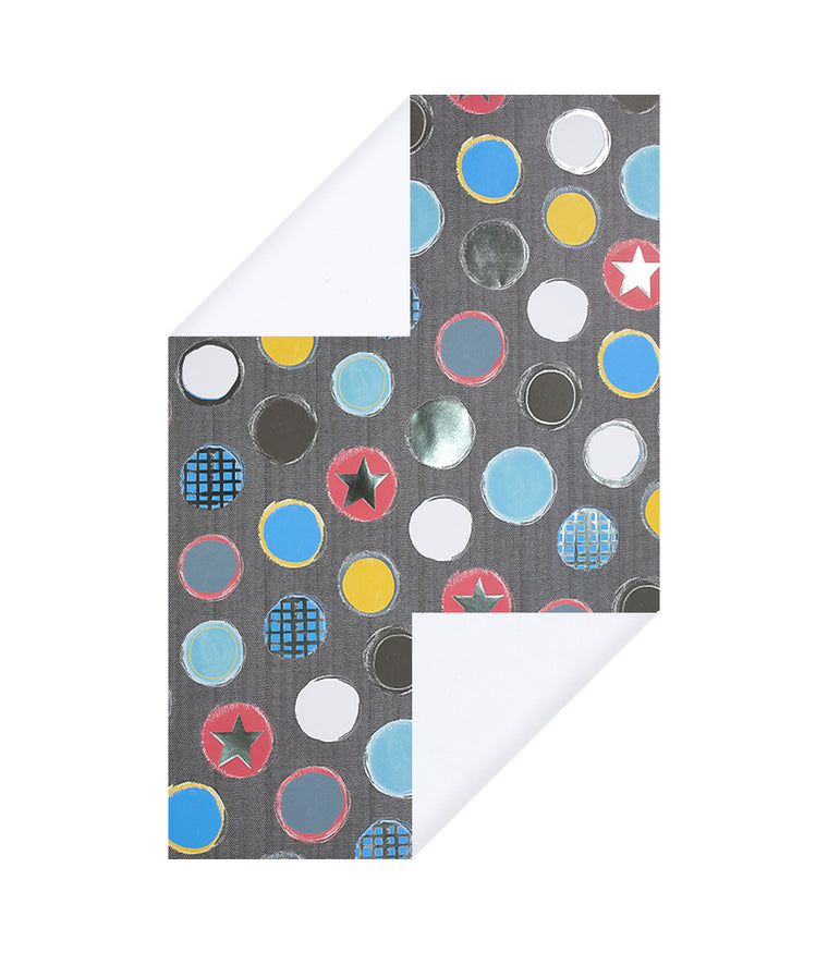 Hombre Spots Wrapping Paper