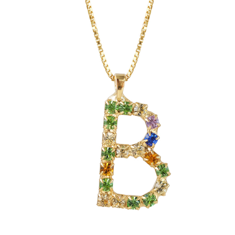 Letter Necklace B