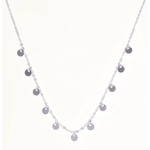 Bella Necklace Silver