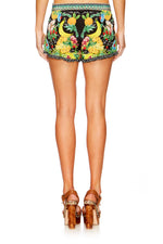 Call Me Carmen Shorts With Frill Hem
