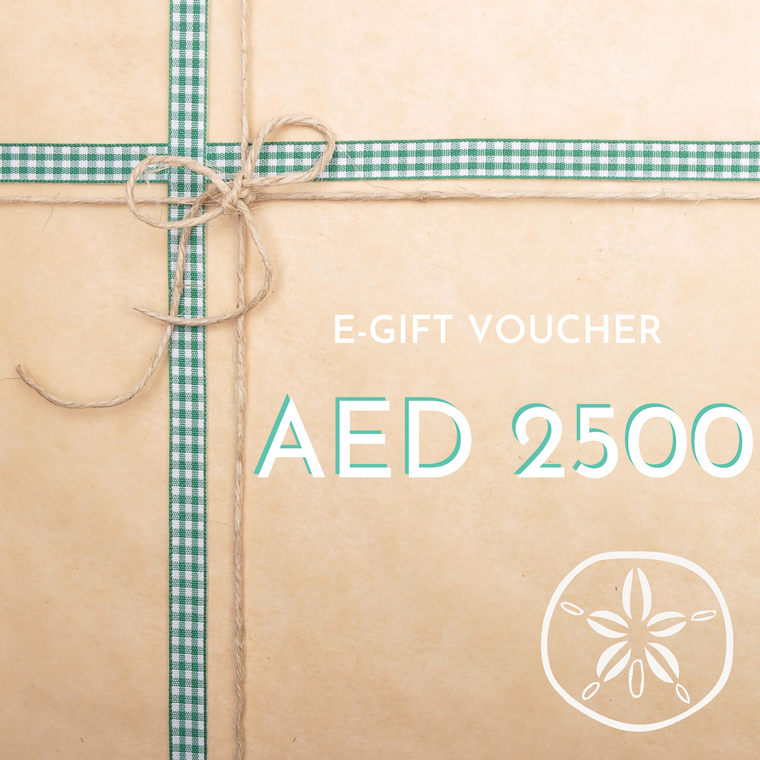 AED 2500 E-Gift Card