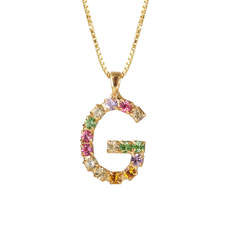 Letter Necklace G