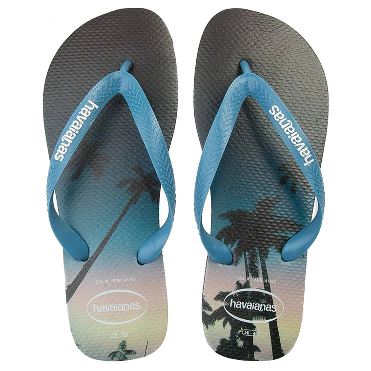 Havaianas Men's Hype Navy Blue/White