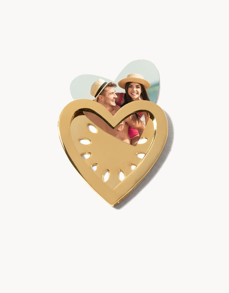 Heart Locket Photo Holder