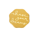 Locket Note Chase Your Dreams