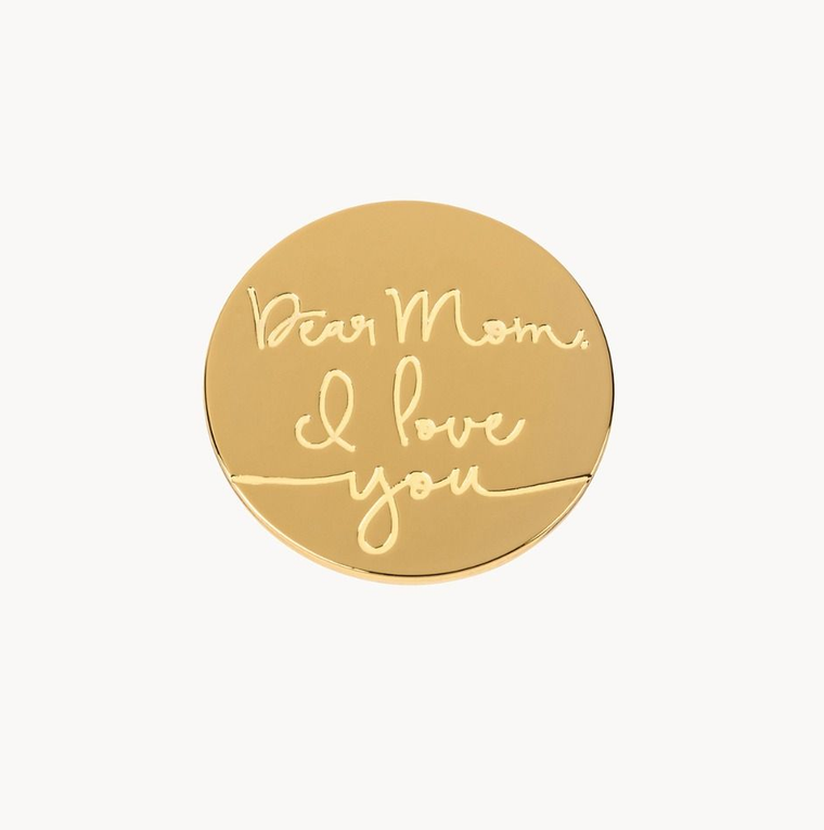 Locket Note Dear Mom I Love You