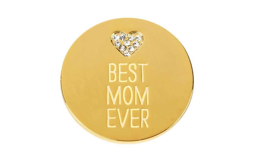 Locket Note Gem Best Mom