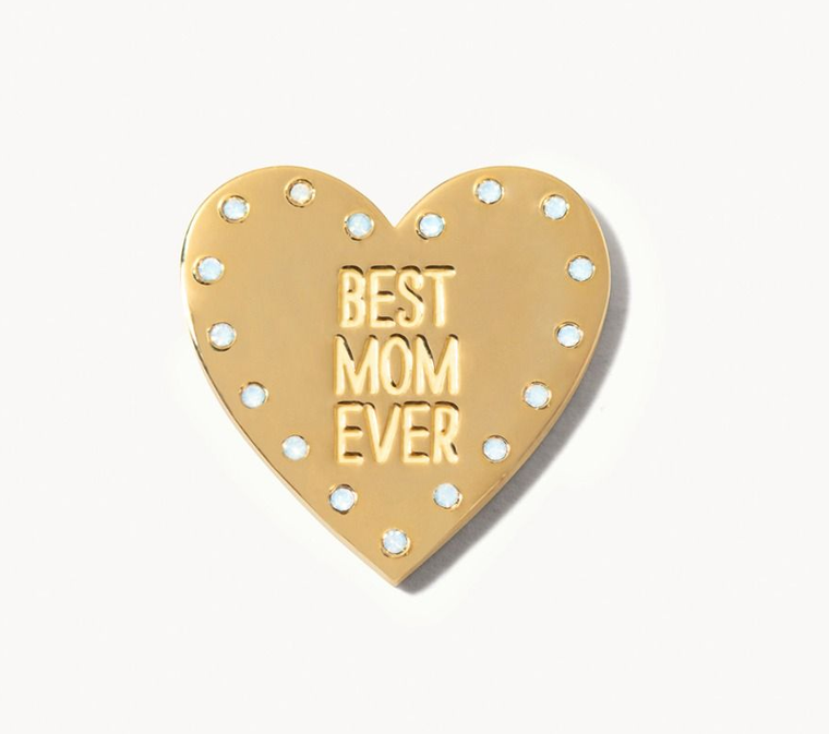 Locket Note Gem Heart Best Mom