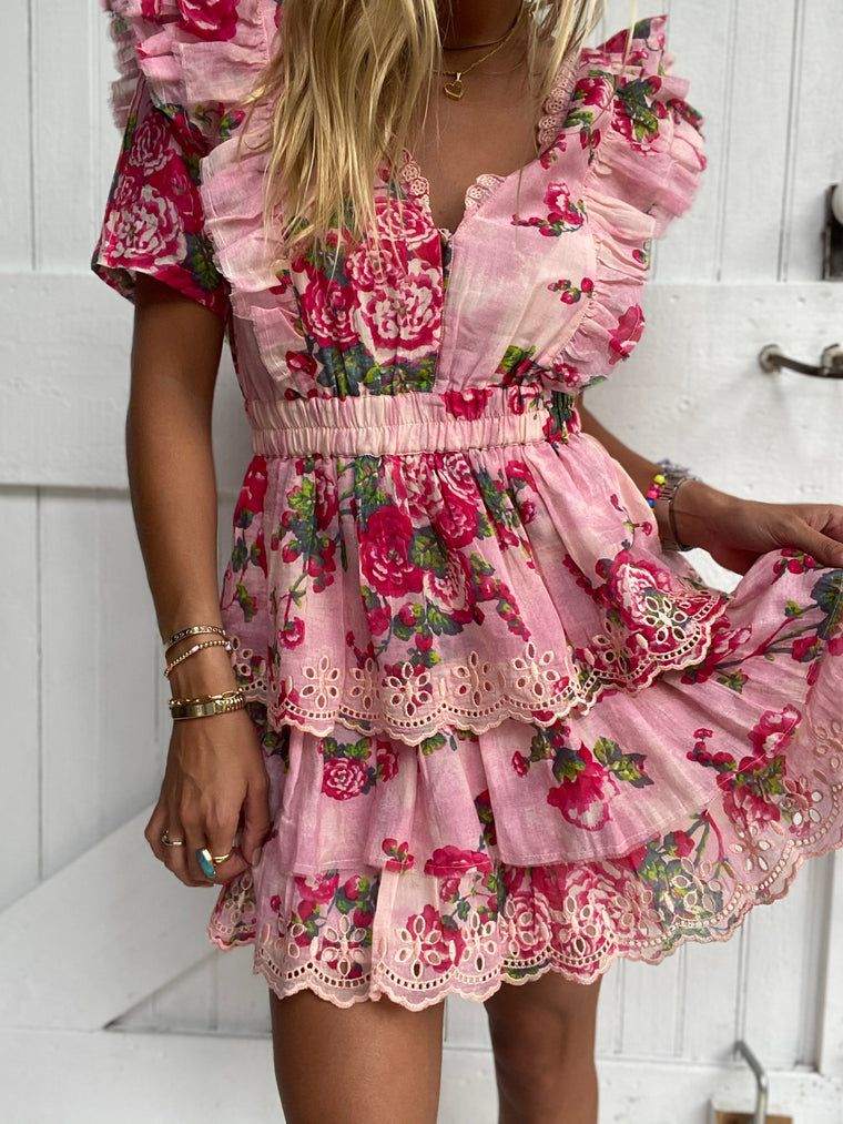 Aldina Dress Pink Desert