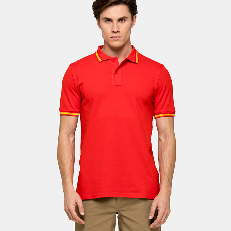 sundek polo shirt for men back
