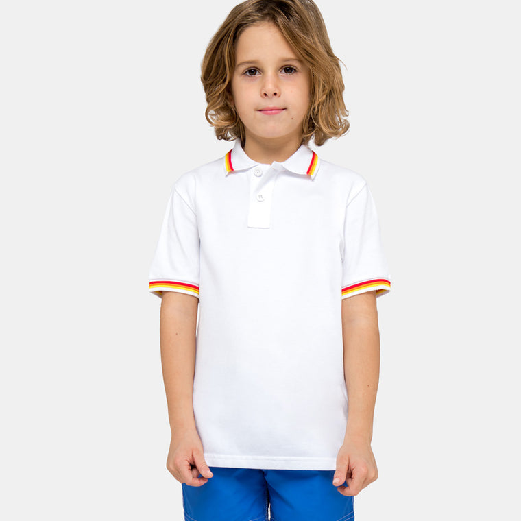 sundek white polo shirt